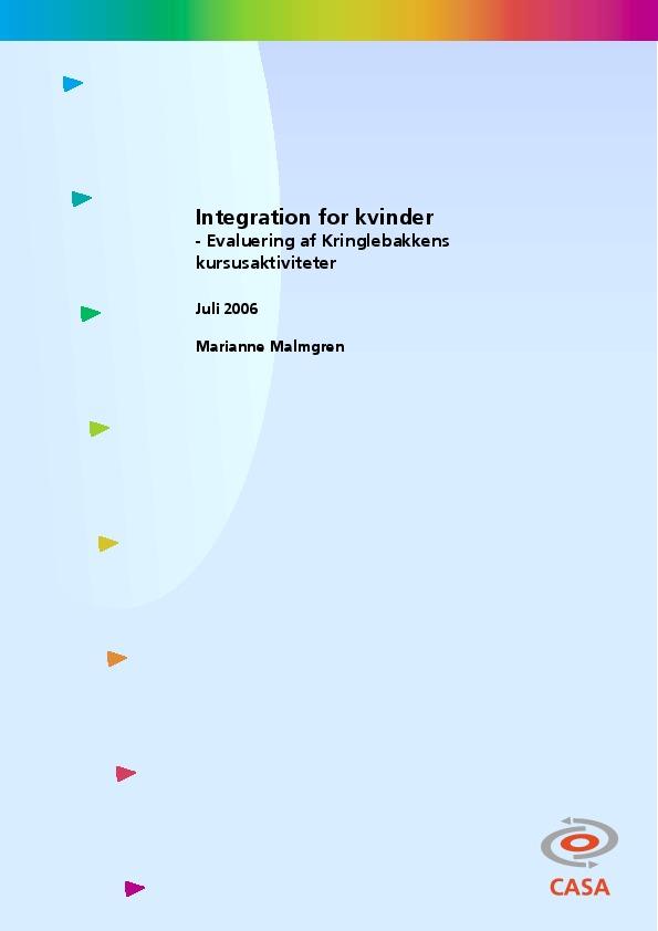Integration-for-kvinder-Evaluering-af-Kringlebakkens-kursusaktiviteter-2006