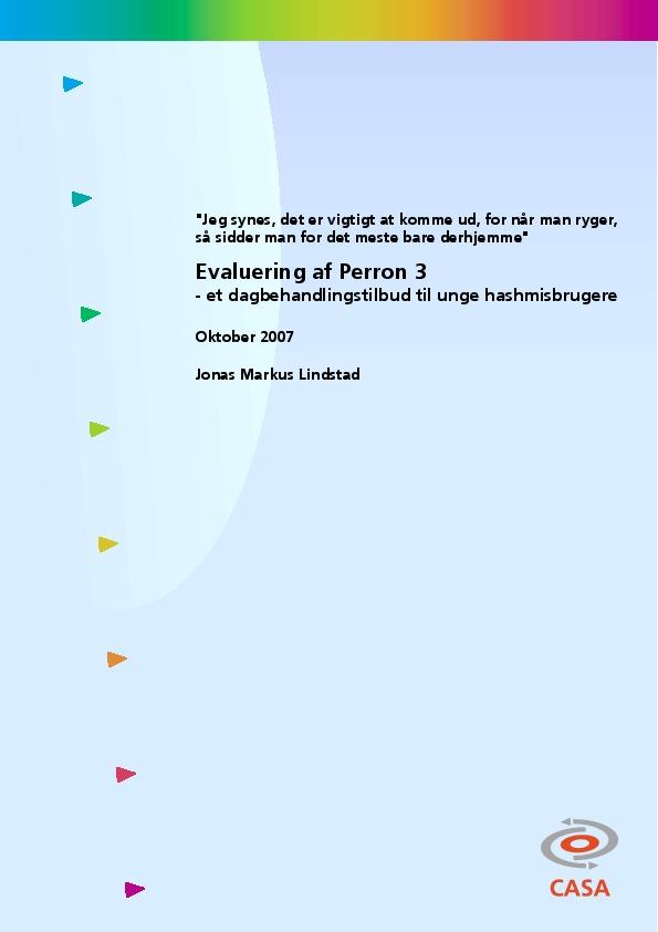 Perron-3-et-dagbehandlingstilbud-til-unge-hashmisbrugere-2007
