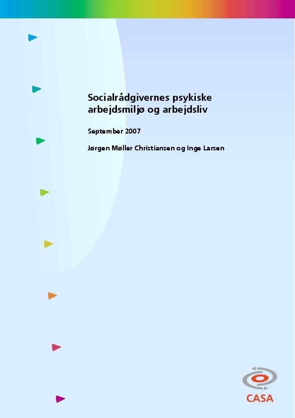 Socialrådgivernes-psykiske-arbejdsmiljø-og-arbejdsliv-2007
