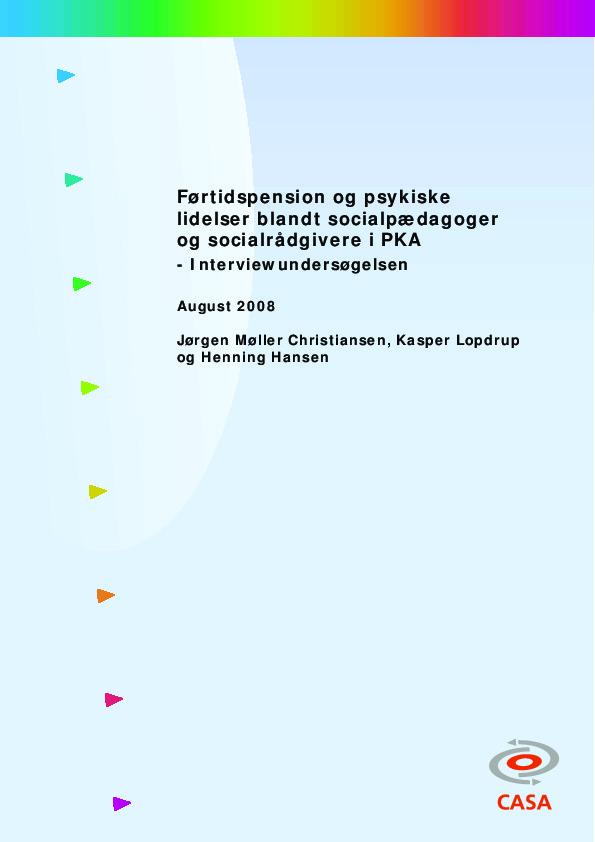 Førtidspension-og-psykiske-lidelser-blandt-socialpædagoger-og-socialrådgivere-i-PKA-interviewundersoegelse-2008