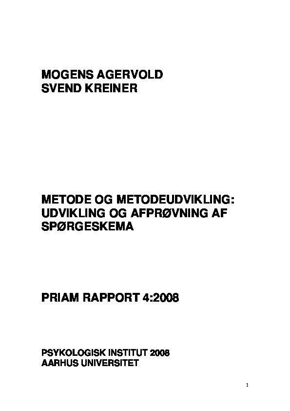 PRIAM - Delrapport 4