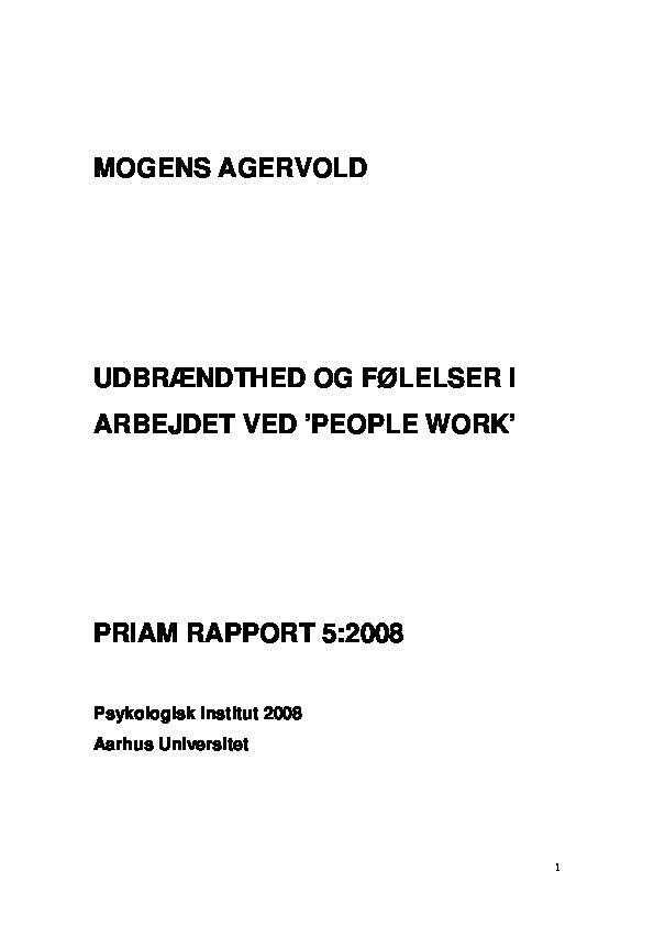 PRIAM - Delrapport 5