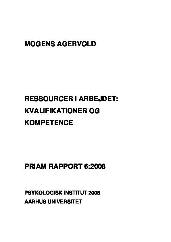 PRIAM - Delrapport 6
