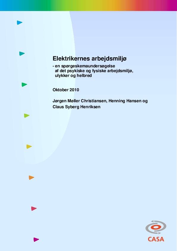 Elektrikernes-arbejdsmiljø-2010