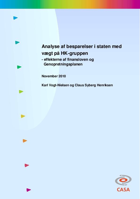 Analyse-af-besparelser-i-staten-med-vægt-på-HK-gruppen-2011